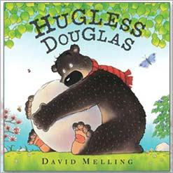 <center>HUGLESS DOUGLAS <h4>– Book by David Melling –</h4></center>