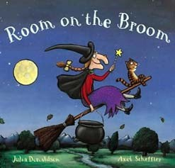<center>ROOM ON THE BROOM <h4>– Book by Julia Donaldson and Axel Scheffler –</h4></center>