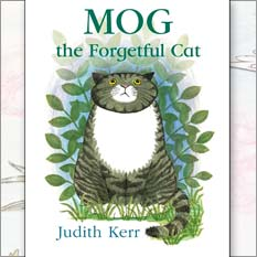 <center>MOG THE FORGETFUL CAT <h4>– Book by Judith Kerr –</h4></center>