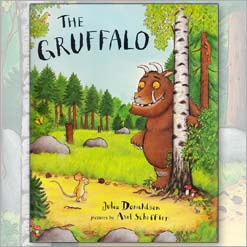 <center>THE GRUFFALO <h4>– Book by Julia Donaldson and Axel Scheffler –</h4></center>