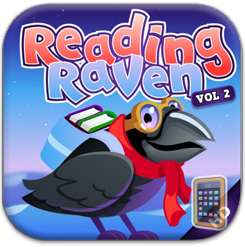 <center>READING RAVEN VOL 2 <h4>– Learning to Read App Review –</h4></center>