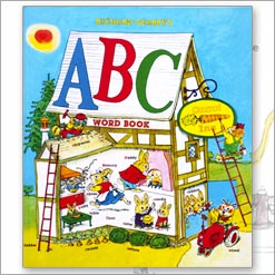 <center>RICHARD SCARRY'S ABC WORD BOOK<h4>– Book by Richard Scarry –</h4></center>