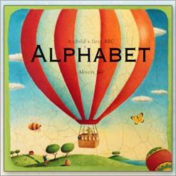 <center>ALPHABET <h4>A Childs First ABC</h4> <h4>– Book by Alison Jay –</h4></center>