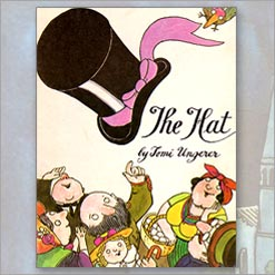 <center>THE HAT <h4>– Book by Tomi Ungerer –</h4></center>