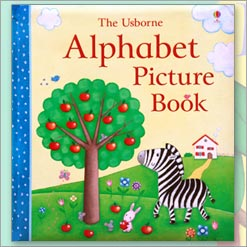 <center>THE USBORNE ALPHABET PICTURE BOOK <h4>– Rosalinde Bonnet –</h4></center>