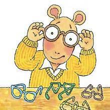 ARTHUR'S EYES Book glasses