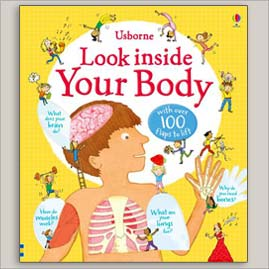 <center>LOOK INSIDE YOUR BODY <h4>– Usborne –</h4></center>