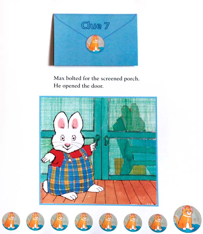 MAX AND RUBY'S TREASURE HUNT Book Rosemary Wells