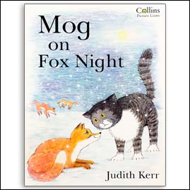 <center>MOG ON FOX NIGHT <h4>– Book by Judith Kerr –</h4></center>