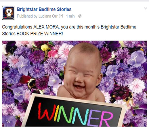 Book Winner March 2016 Alex Mora