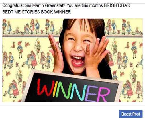 winner April Martin Greenstaff