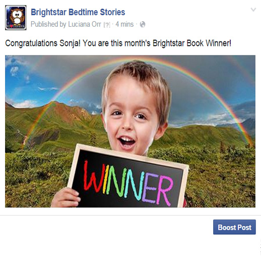 September 2015 Brightar book winner