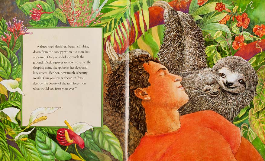 book review of the great kapok tree