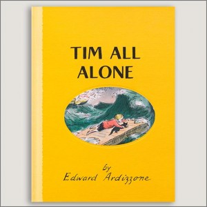 <center>TIM ALL ALONE<h4>– Book by  Edward Ardizzone –</h4></center>
