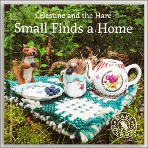 <center>SMALL FINDS A HOME – CELESTINE AND THE HARE<h4>– Book by Karin Celestine –</h4></center>