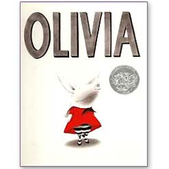 <center>OLIVIA <h4>– Book by Ian Falconer –</h4></center>
