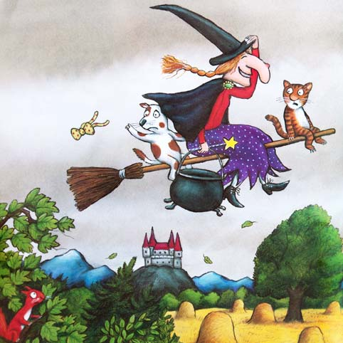 ROOM ON THE BROOM - Kids book by Julia Donaldson and Axel Scheffler