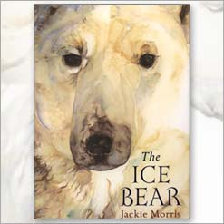 <center>THE ICE BEAR <h4>– Book by Jackie Morris –</h4> </center>