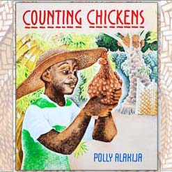 Counting Chickens by Polly Alakija children looking after animals cover
