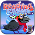 Reading Raven Vol 2 learning to read app educational games