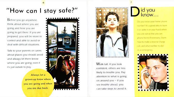 KEEPING SAFE child safety book