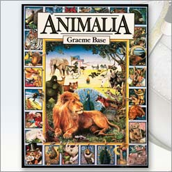 <center>ANIMALIA <h4>– Book by Graeme Base –</h4></center>