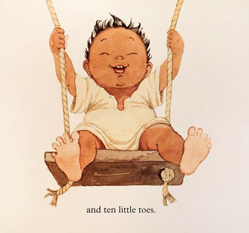 TEN LITTLE FINGERS AND TEN LITTLE TOES BOOK