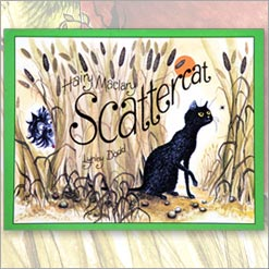 <center>HAIRY MACLARY: SCATTERCAT <h4>– Book by Lynley Dodd –</h4></center>