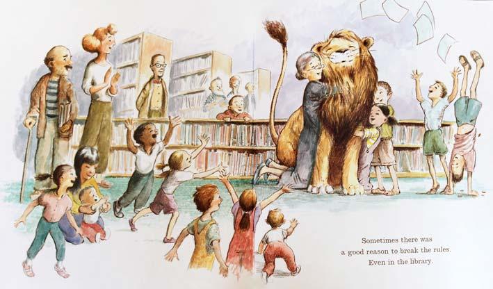 LIBRARY LION Könyv Michelle Knudsen és Kevin Hawkes