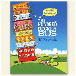 <center>THE HUNDRED DECKER BUS <h4>– Book by Mike Smith-</h4></center>