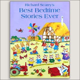 <center>BEST BEDTIME STORIES EVER <h4>– Book by Richard Scarry –</h4></center>