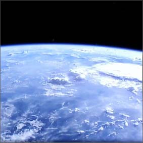 Looking down on earth NASA