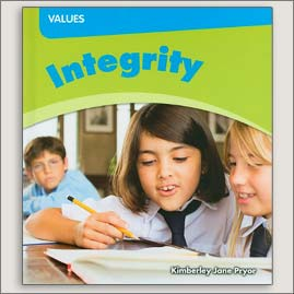 <center>INTEGRITY<h4>– Book by Kimberley Jane Pryor –</h4></center>