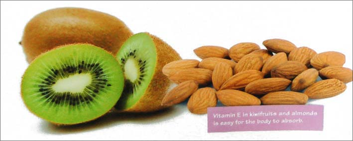 nuts kiwi fruit body fuel