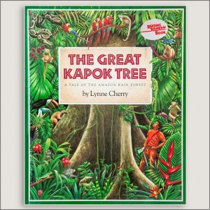 <center>THE GREAT KAPOK TREE <h4>– Book by Lynne Cherry –</h4></center>