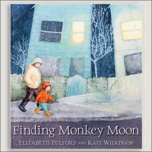 <center>FINDING MONKEY MOON<h4>– Book by Elizabeth Pulford and Kate Wilkinson-</h4></center>