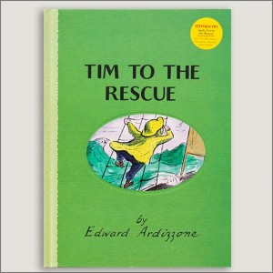 <center>TIM TO THE RESCUE<h4>– Book by Edward Ardizzone –</h4></center>