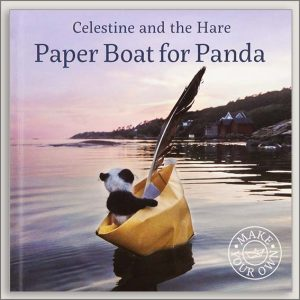 <center>A PAPER BOAT FOR PANDA – CELESTINE AND THE HARE<h4>– Book by Karin Celestine  –</h4></center>