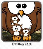 feeling safe books